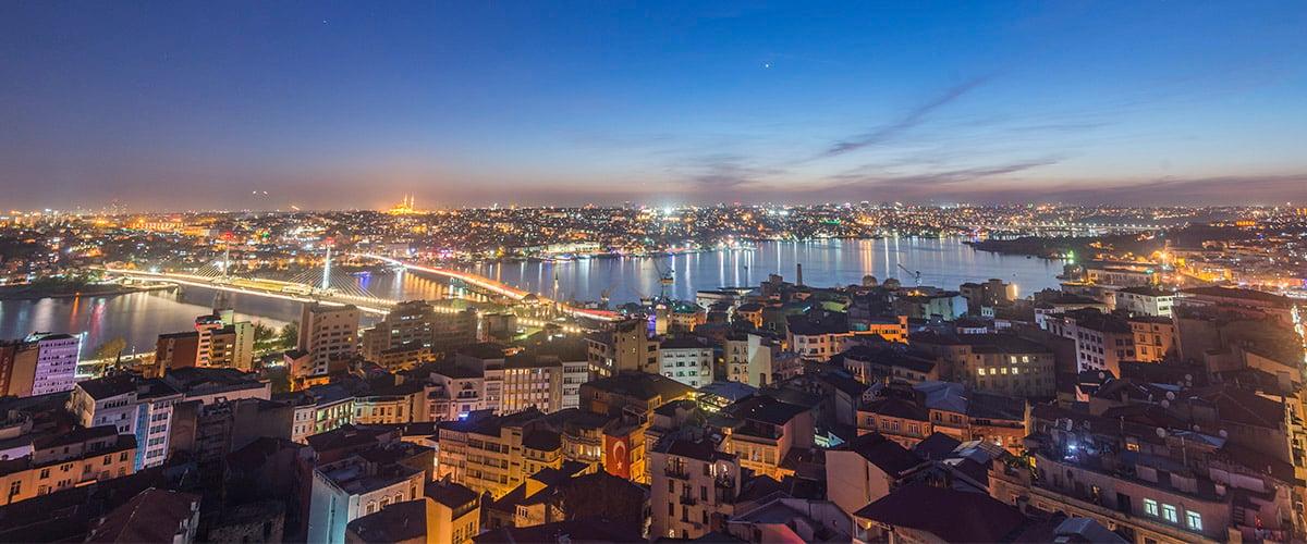 Aerial View of Istanbul City - Savory & Partners - Dubai, UAE