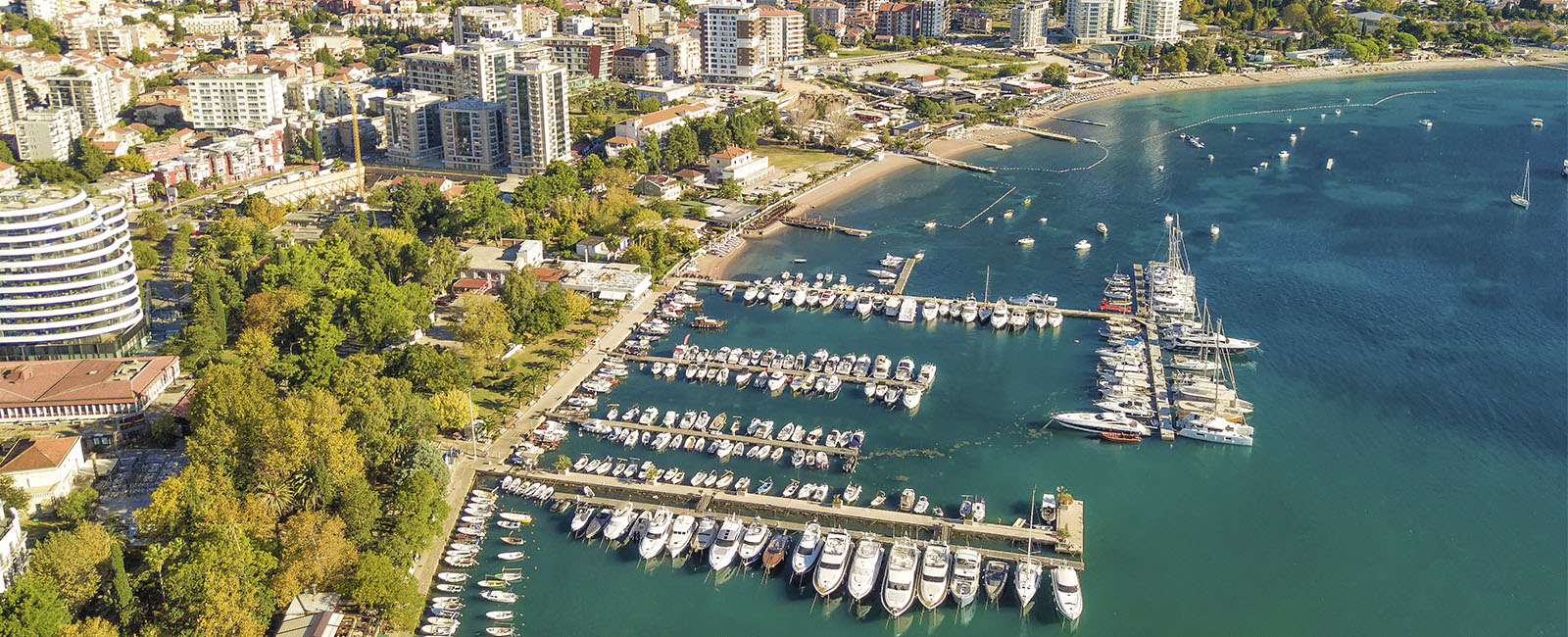 Budva - Aerial View of Montenegro - Savory & Partners - Dubai, UAE