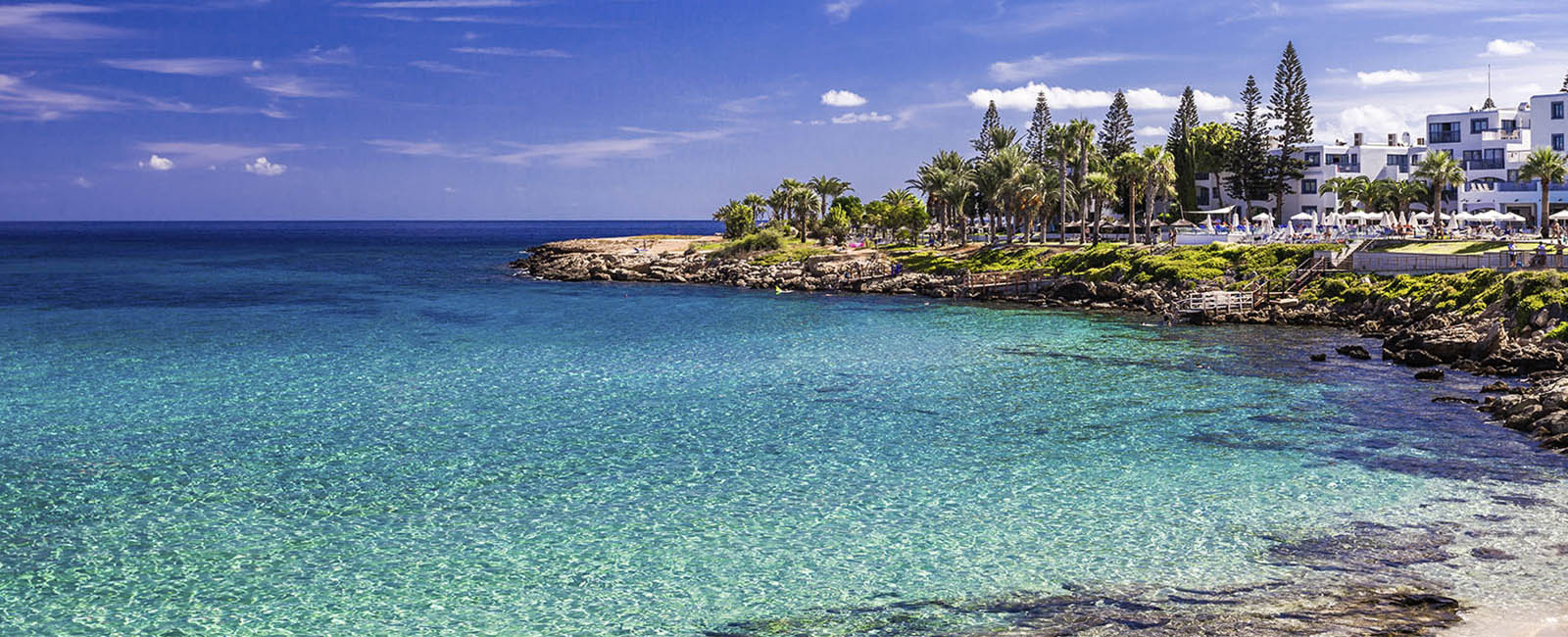 """Cyprus is home to six of the Mediterranean´s top """"blue flag beaches""""."""