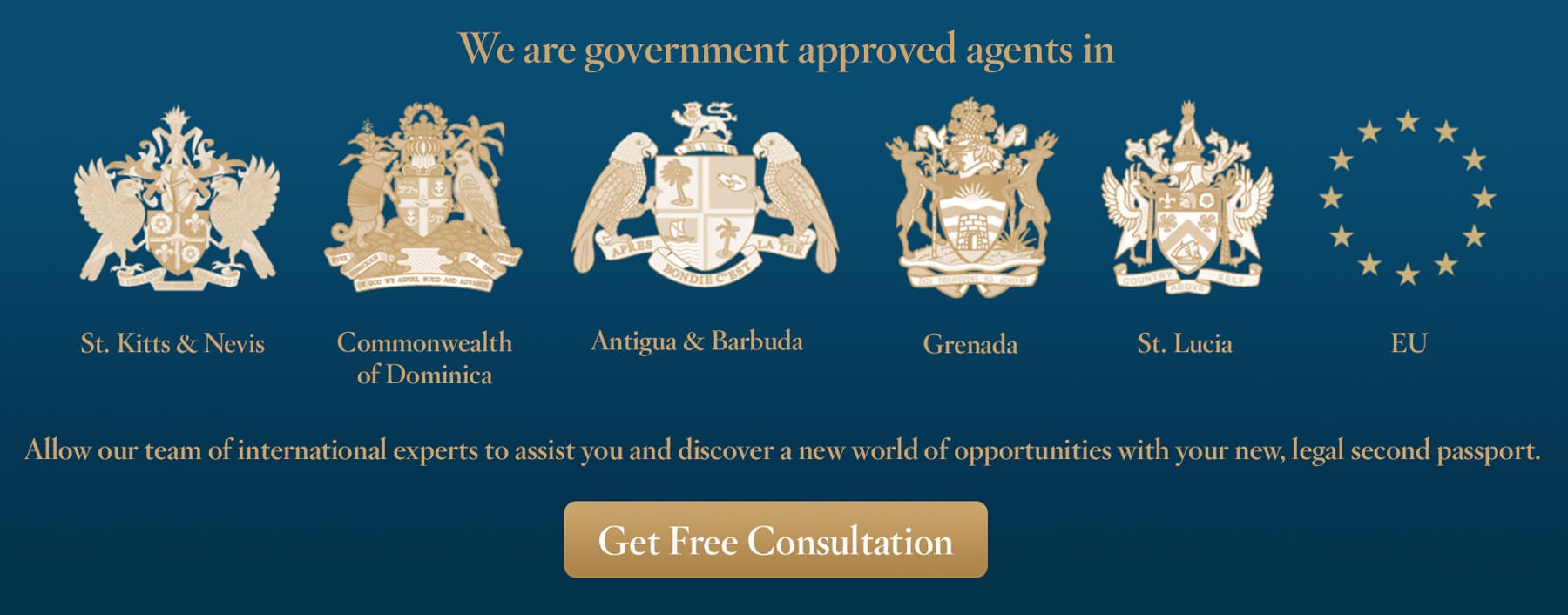 Second Citizenship In 4-6 Months. Apply Today with Government Authorised Agents