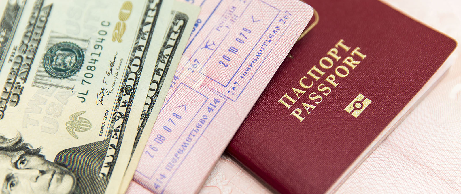 Nowadays modernised passports have security components that cannot be easily simulated by forgery